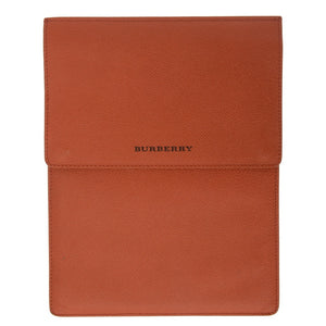 Orange Leather iPad Case