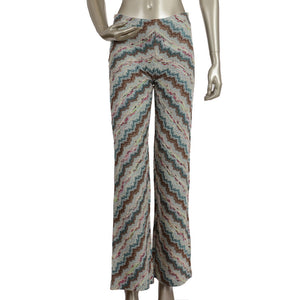 ZigZag Multicolored Wool Pants