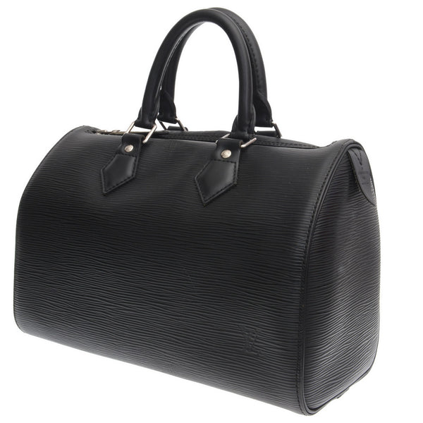 Black Epi Leather 30 Speedy Bag