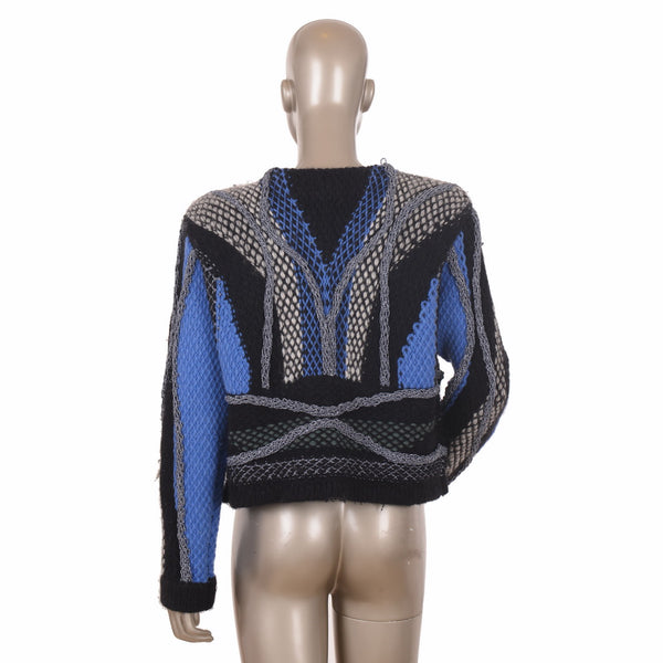 Embroidered Patchwork Jumper