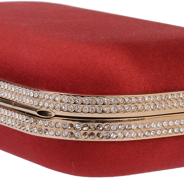 Red Signature Clutch