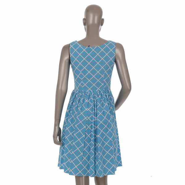 Abito Popeline Turquoise Dress