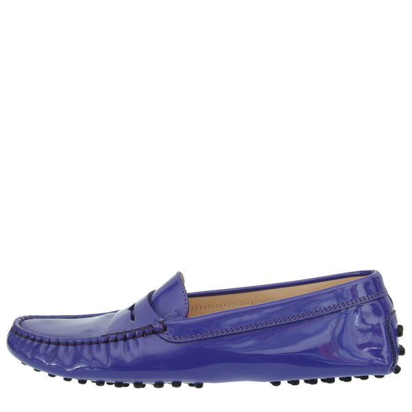 Gommino Purple Patent Leather Loafers