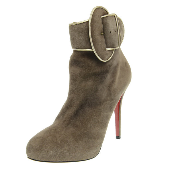 Top 70 Beige Suede Ankle Boots