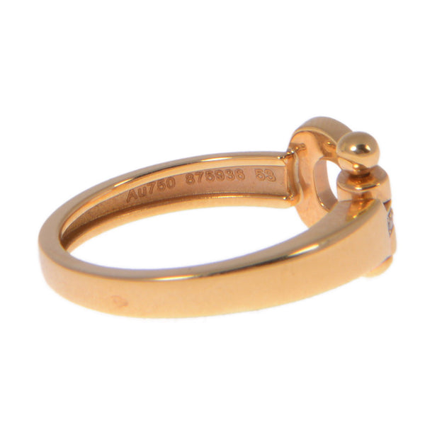 Force 10 Tape Mini Yellow Gold Ring