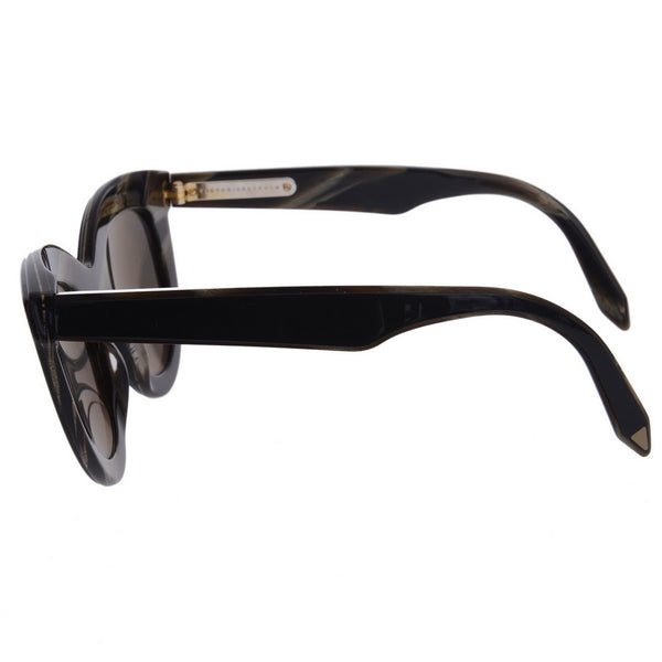 Cat Eye Black Sunglasses