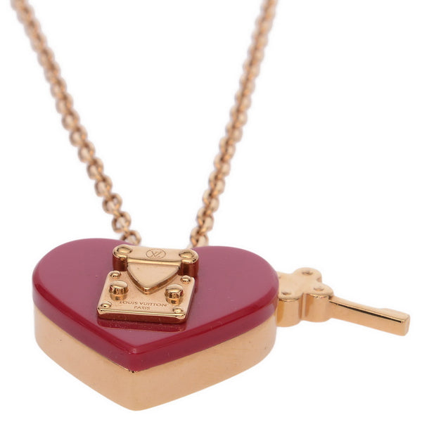 Pink / Purple Lock Me Pendant