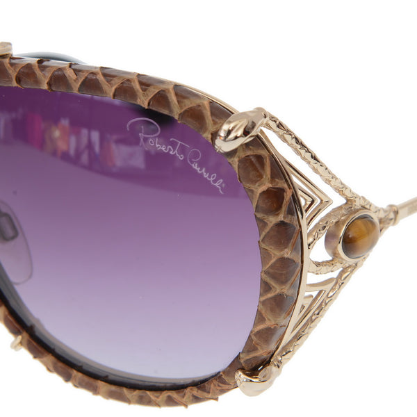 Aviator Crocodile Sunglasses