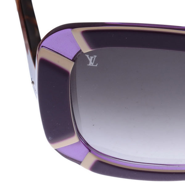 Purple Framed Anemone Sunglasses