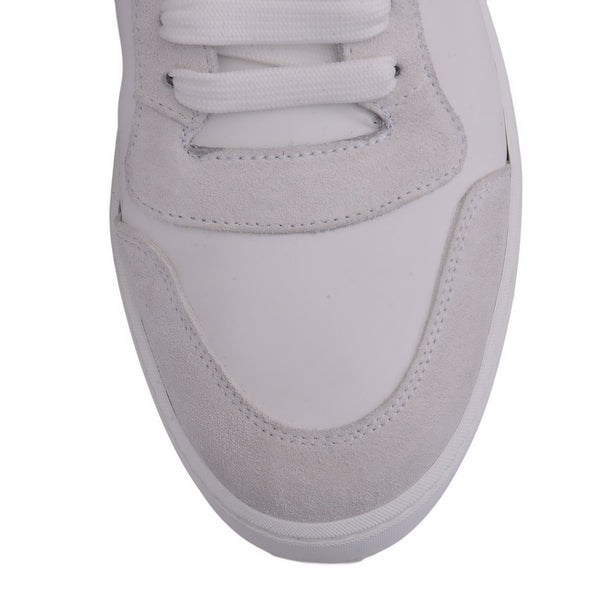 White Reeth HI Ankle Boot Trainers