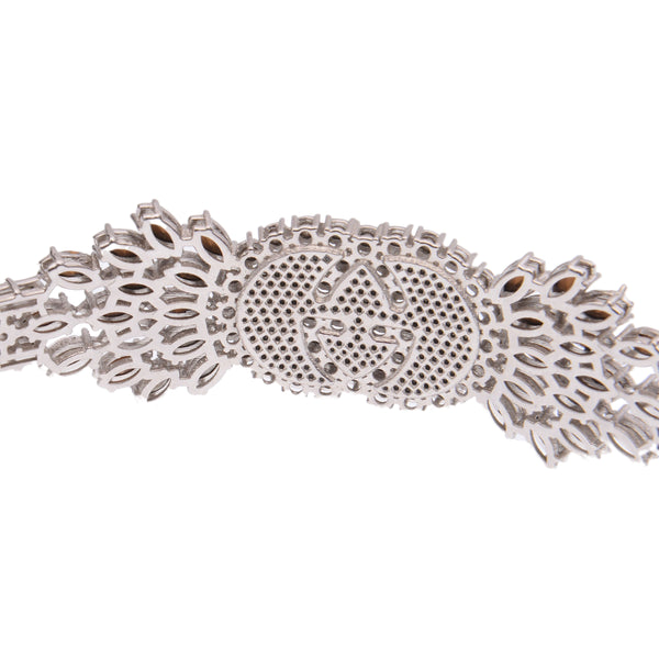 Tennis Web Crystal Embellished Headband