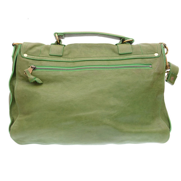Green PS1 Medium Proenza Satchel Bag