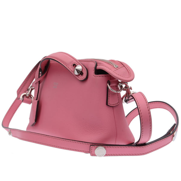 Pink By The Way Mini Leather Cross-Body Bag