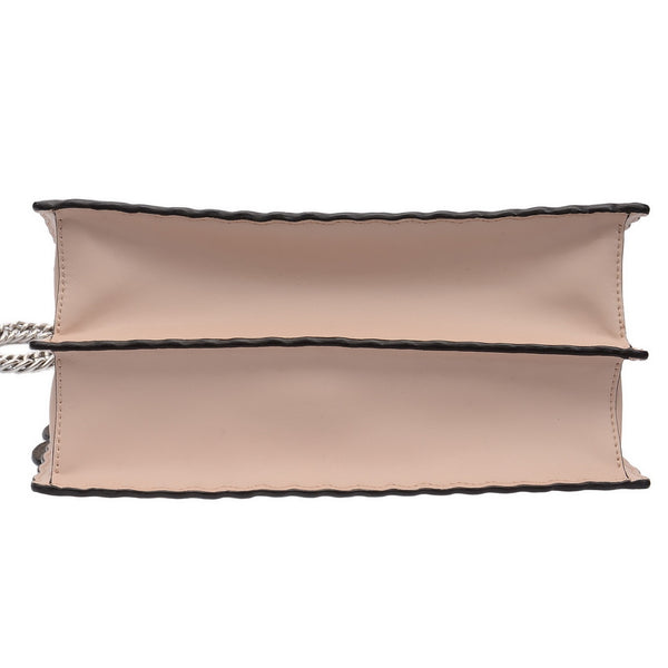 Pale Pink Studded Kan Shoulder Bag
