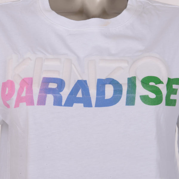 White Cotton Paradise T-Shirt