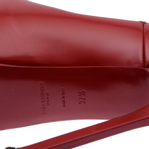 Tribtoo Red Leather Pumps
