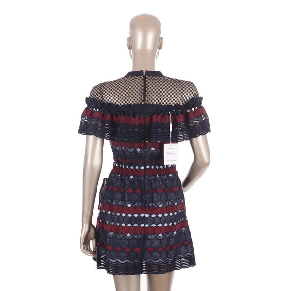 Multi Lace Hudson Mini Dress