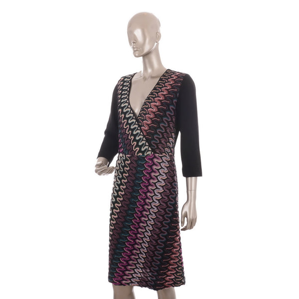 Multicolored Wool Dress