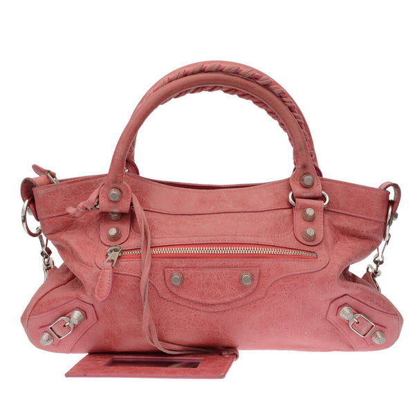 Cherry Pink Small City Bag