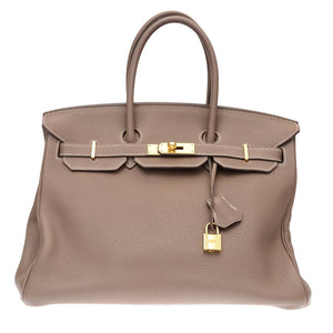Birkin 35cm Etoupe Togo Leather