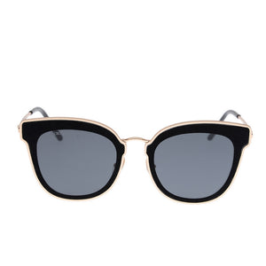Niles Glittered Cat-Eye Sunglasses