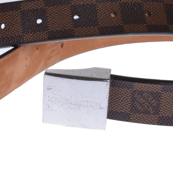 Damier Ebene Canvas Belt