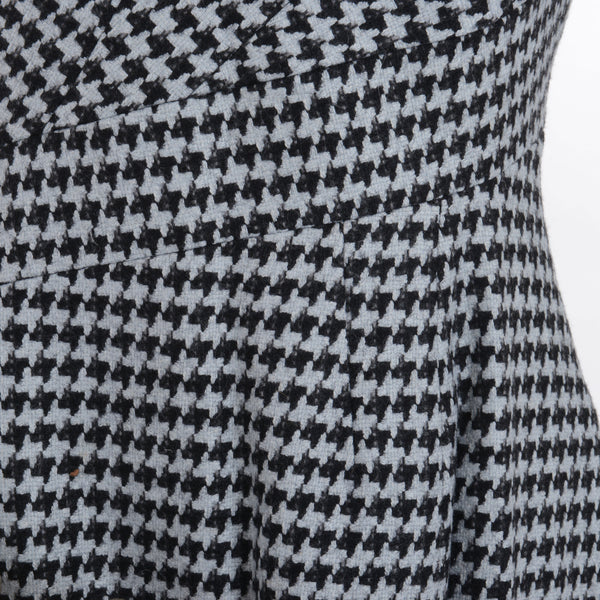 Houndstooth Fish Tail Dress