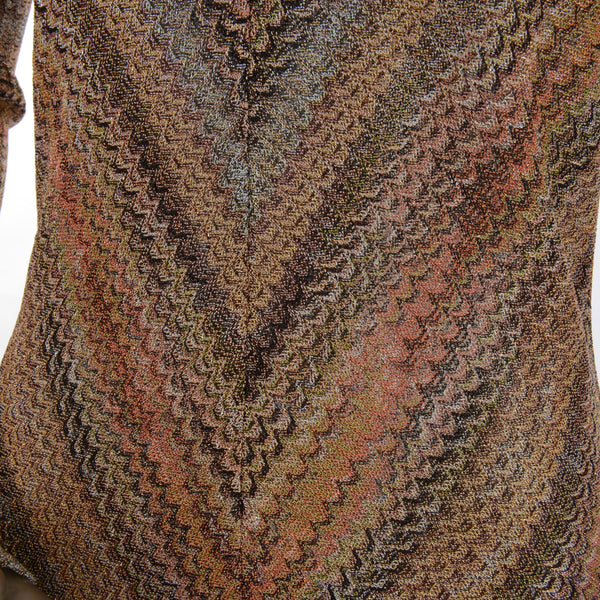 Multi Colored Tweed Dress