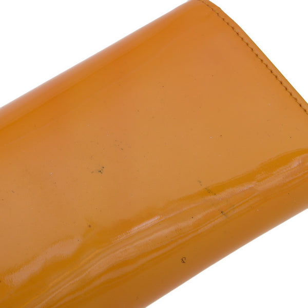 Caramel Orange Tippy Clutch