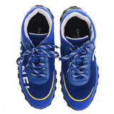 Blue Mesh Logo Running Trainers