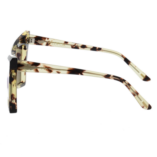 Cateye Tiger Printed Sunglasses