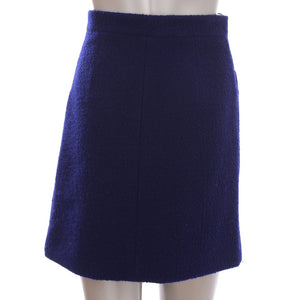 Navy Knit Skirt
