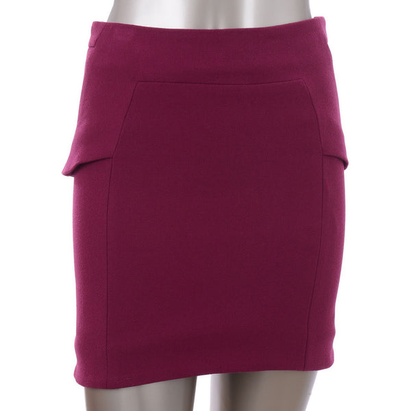 Purple Short Skirt