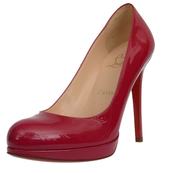 Bianca Fuchsia Fifi Patent Leather Pumps