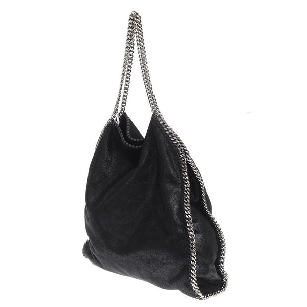 Black Large Falabella Shoulder Bag