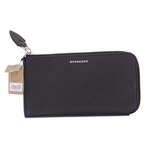 Marais Black Leather Wallet