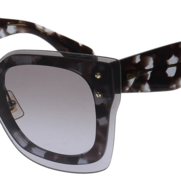 Reveal Squared Black Sunglasses