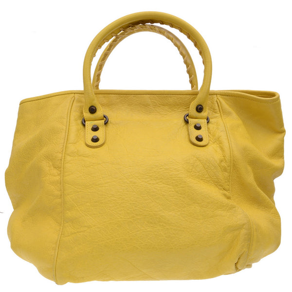 Agneau Large Sunday Yellow Tote