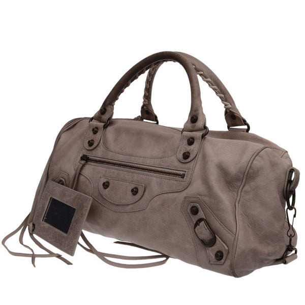 Light Grey City Handbag