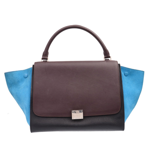 Trapeze Medium Tricolour Handbag