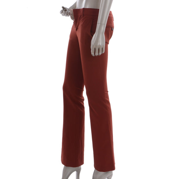 Brick Burnt Orange Pants