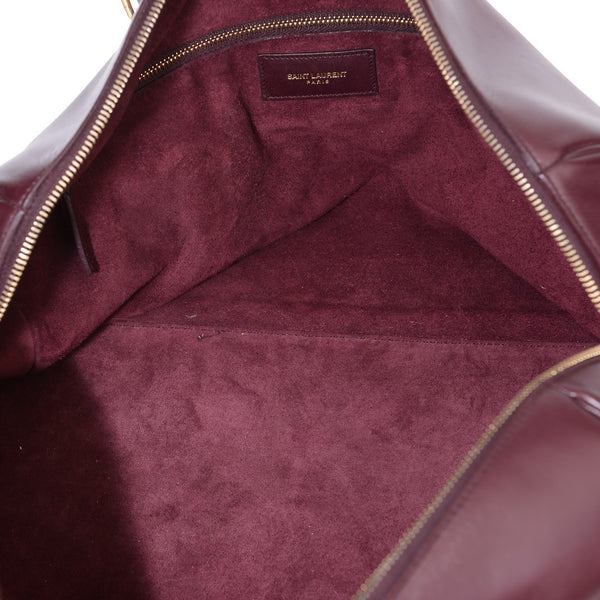 Duffle Boston Burgundy Large Tote