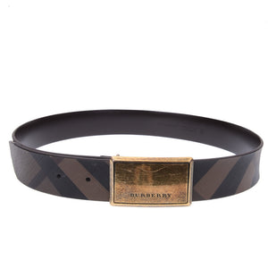 Brown Haymarket Bronze Belt