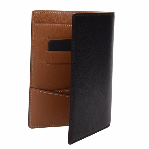 CRM Goal Black Passport Holder