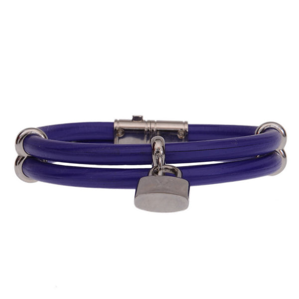 Keep It Twice Purple Lock Bracelet