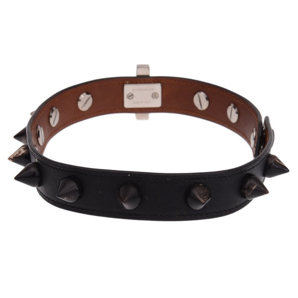 2 Rows Obsedia Studded Leather With Horn