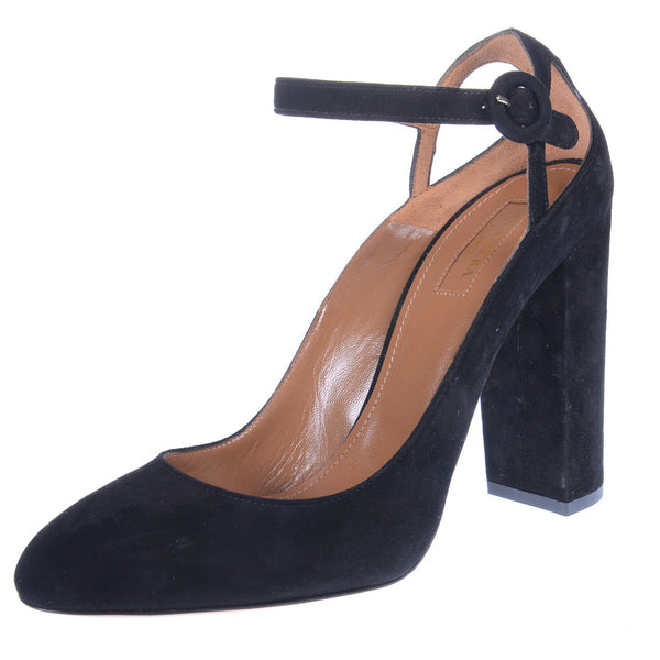 Alix Suede Mary Jane Pumps