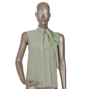 Light Green Sleeveless Shirt