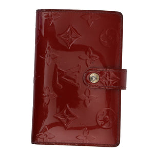 Red Patent Vernis Monogram Wallet