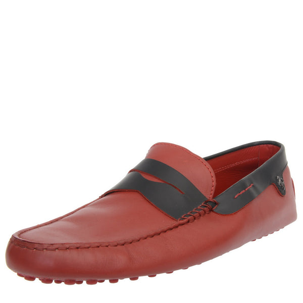 Ferrari Edition Red Leather City Moccasins